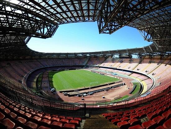 Lo stadio San Paolo (Infophoto)