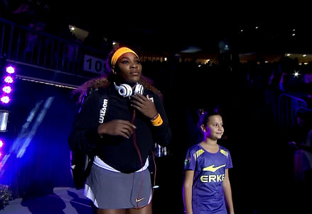 Serena Williams ha dominato anche questa stagione (Infophoto)