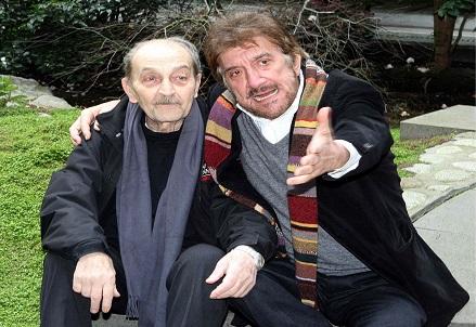 Sergio Fiorentini e Gigi Proietti