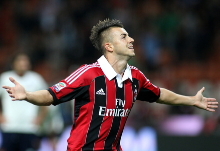 Stephan El Shaarawy, attaccante Milan (Foto Infophoto)