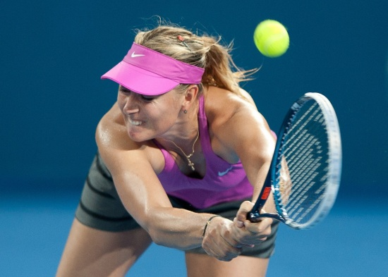 Maria Sharapova, campionesse in carica a Brisbane (Infophoto)
