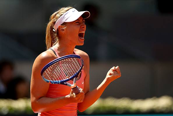 Maria Sharapova, 28 anni, 35 titoli in carriera (da facebook.com/Internazionali-BNL-dItalia)