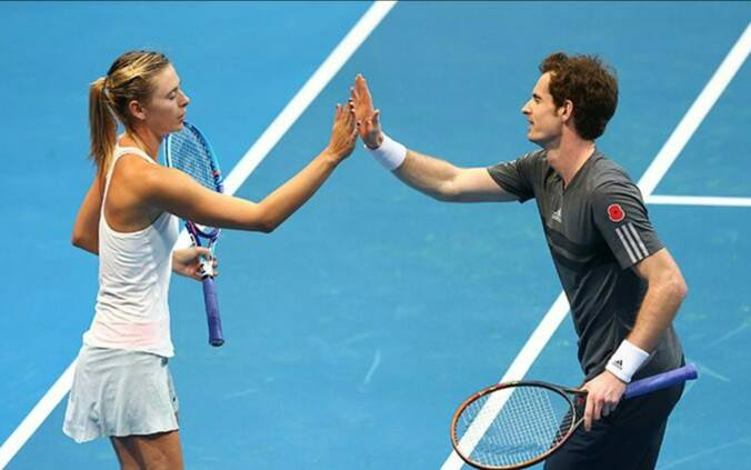 Maria Sharapova (27) e Andy Murray (27): due protagonisti del 2015?