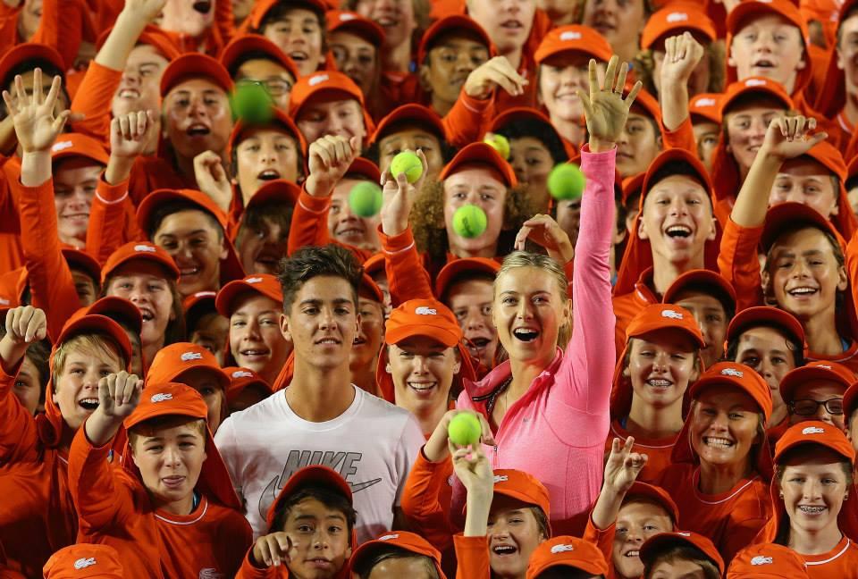 Maria Sharapova, 27 anni, ha vinto gli Australian Open nel 2008