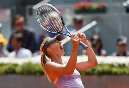 L'urlo di Maria Sharapova, 27 anni: finale numero 53 in carriera
