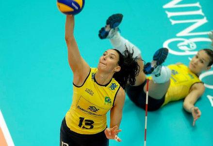 Sheilla Tavares de Castro, 31 anni: ha giocato 4 anni a Pesaro