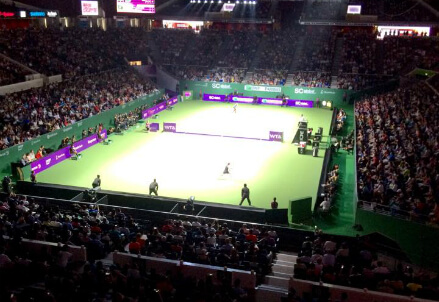 (dall'account ufficiale facebook.com/WTAFinalsSG)