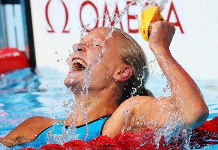 Sarah Sjostrom, 20 anni, nuotatrice svedese