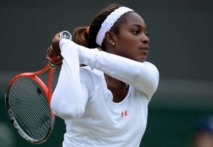 Sloane Stephens, 20 anni, numero 17 WTA (Infophoto)