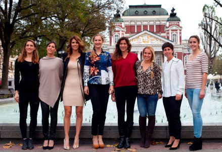 Le otto protagoniste del Master B di Sofia