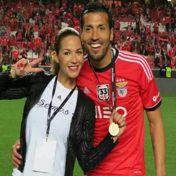 Tamara Gorro con Ezequiel Garay