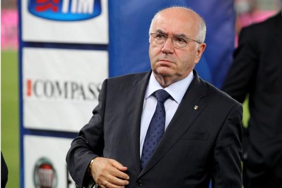 Carlo Tavecchio, presidente della FIGC (Infophoto)