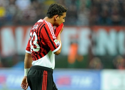 Thiago Silva, difensore Milan (Foto Infophoto)