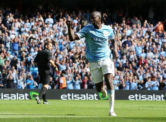 Yaya Touré, centrocampista City (Infophoto)