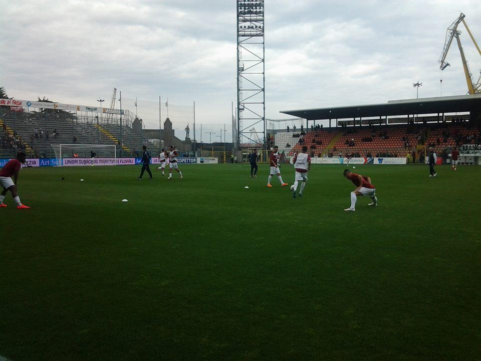 (dall'account ufficiale facebook.com/Trapani-Calcio)