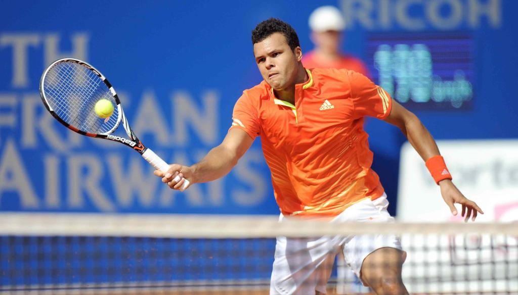 Jo-Wilfried Tsonga, 30 anni, campione in carica (Infophoto)