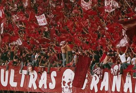 Gli ultras del Torino (Infophoto)