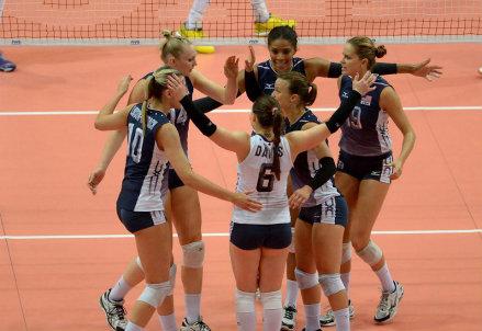 La nazionale femminile americana di volley