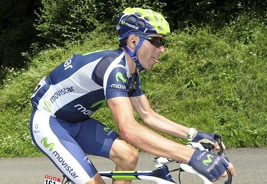 Alejandro Valverde è il leader della classifica (Infophoto)