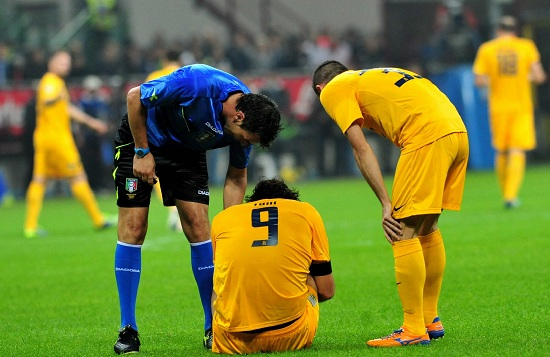 Luca Toni: tre gol in stagione (Infophoto)