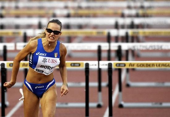 Veronica Borsi, 25 anni, bronzo e record italiano sui 60 hs agli Europei Indoor (Infophoto)