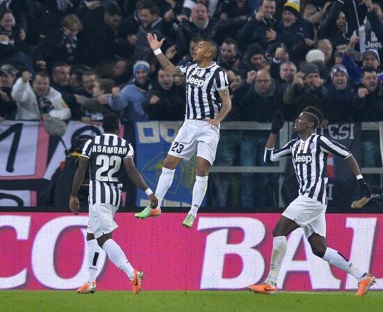 La Juventus è campione d'inverno (Infophoto)