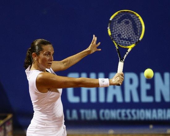 Roberta Vinci, 31 anni, attualmente numero 42 del ranking WTA (Infophoto)