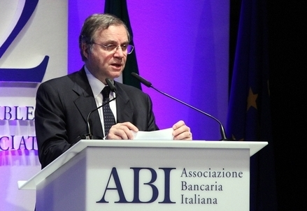 Ignazio Visco, governatore di Bankitalia (Infophoto)