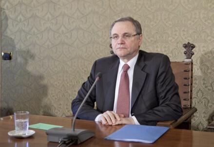 Ignazio Visco (Infophoto)