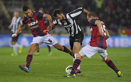Un'immagine della partita della scorsa stagione (Infophoto)