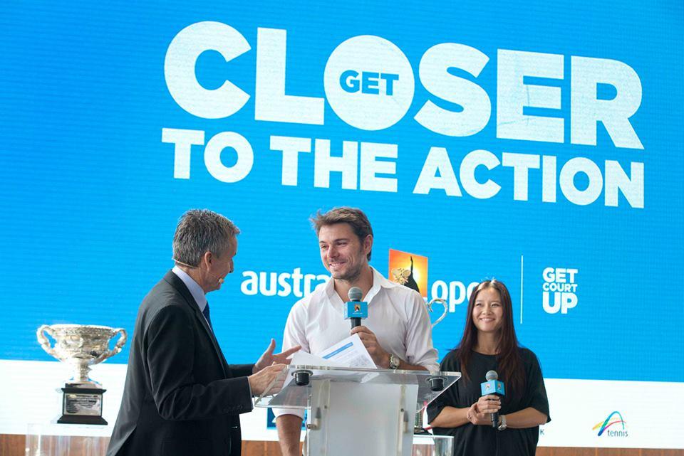 Stan Wawrinka, vincitore degli Australian Open lo scorso anno