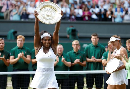 Serena Williams, 33 anni: dal 18 febbraio 2013 numero 1 del mondo (Infophoto)