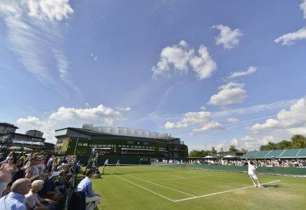 Quarta giornata di incontri a Wimbledon