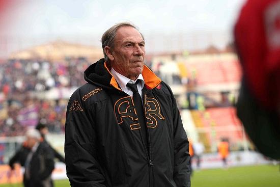 Zeman, ex allenatore Roma (Infophoto)