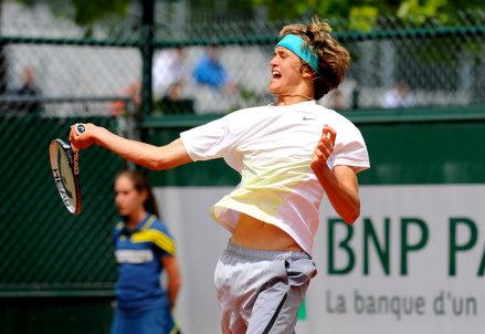Alexander Zverev (17 anni) numero 285 del ranking ATP