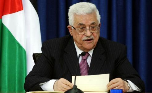 Il presidente palestinese Abu Mazen (Infophoto)