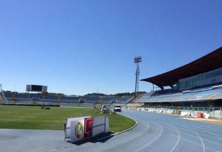 Lo stadio Adriatico di Pescara (INFOPHOTO)