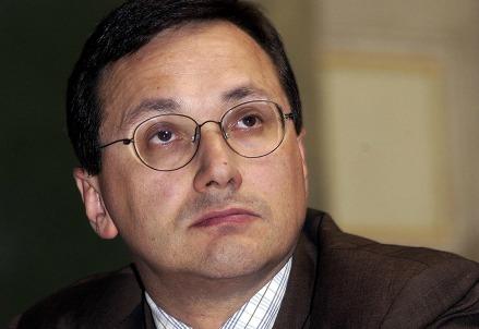 Il presidente Federcasse, Alessandro Azzi (Infophoto)