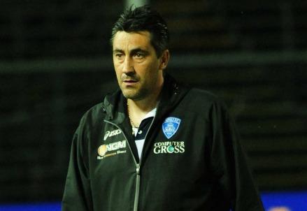 Alfredo Aglietti, tecnico del Novara (Infophoto)