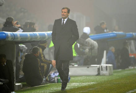 Allegri, allenatore Juventus (Infophoto)
