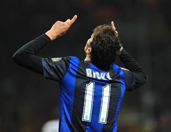 Ricky Alvarez, esterno Inter (Foto Infophoto)