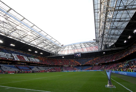 L'Amsterdam Arena, sede di Olanda-Spagna (Infophoto)