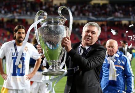 Carlo Ancelotti, 56 anni (Infophoto)