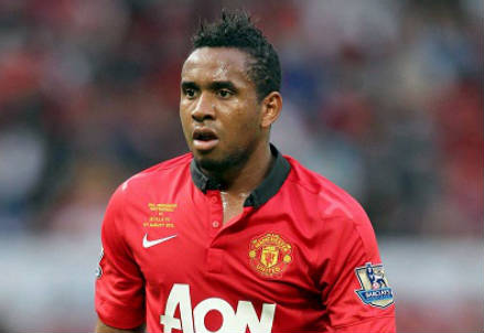 Anderson, centrocampista Manchester United (Foto Infophoto)
