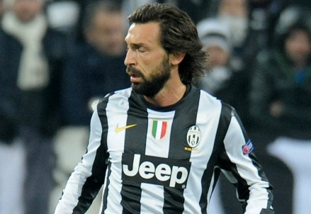 Andrea Pirlo, centrocampista Juventus (Infophoto)