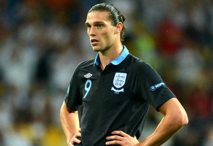 Andy Carroll, attaccante inglese (Foto Infophoto)