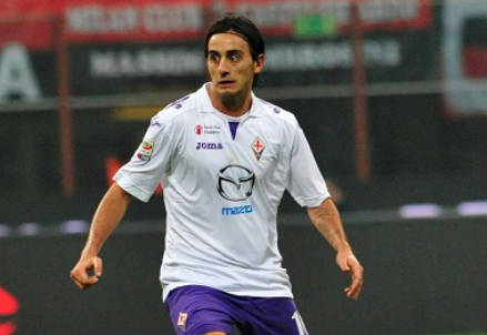 Alberto Aquilani, centrocampista Fiorentina (Foto Infophoto)