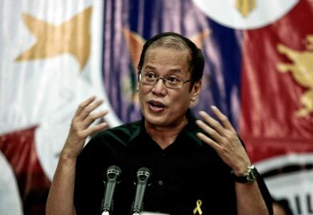 Benigno Aquino, presidente delle Filippine (InfoPhoto)