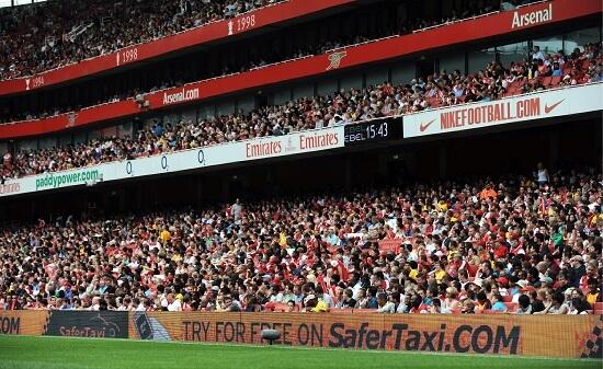 Lo stadio dell'Arsenal