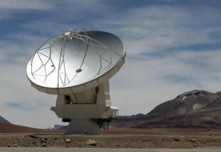 Il telescopio Alma